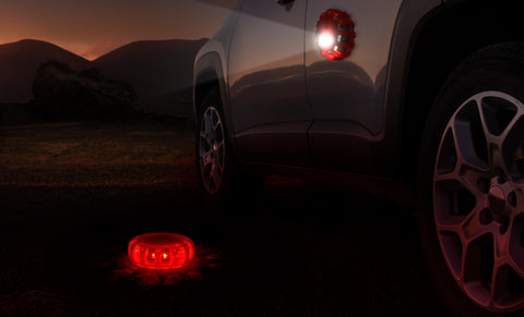 ZeroDark LED Roadside Flare Safety Puck