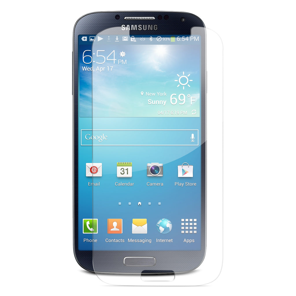 SHATTERGUARDZ Tempered Glass Screen Protector: Galaxy S4