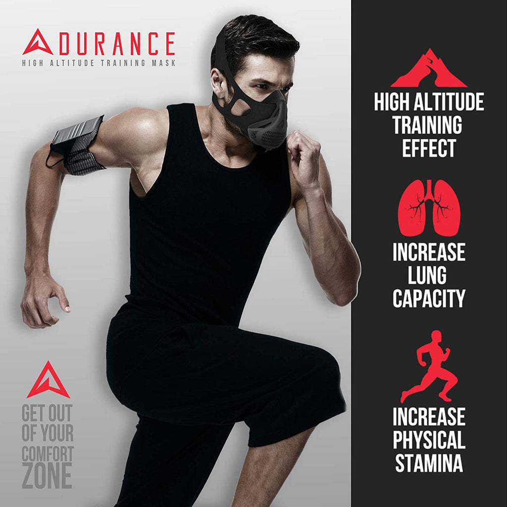 Adurance High Altitude Breathing Training Mask