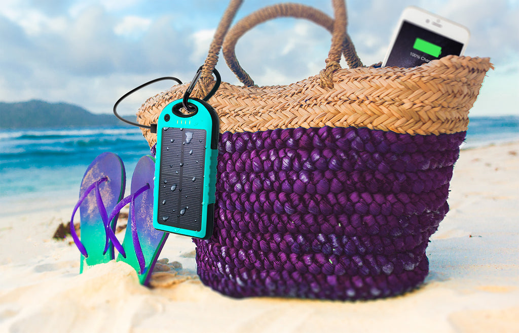 PowerUP Solar Portable Backup Battery: 6000 mAh