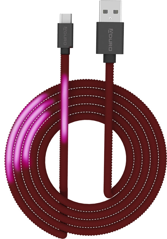 Color Changing Thermal Type-C Cable - 10'