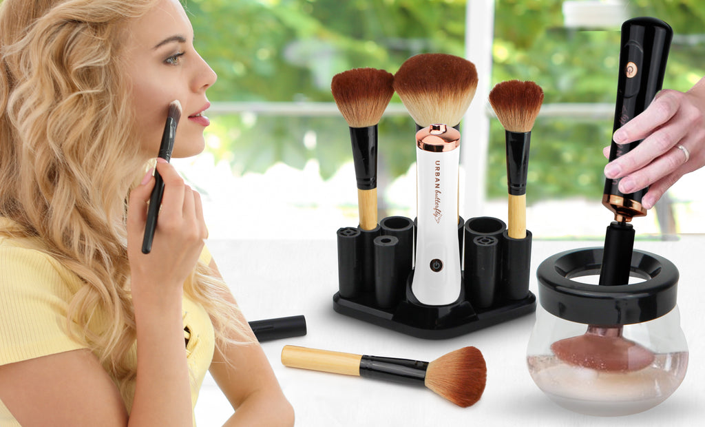 Urban Butterfly Electric Makeup Brush Cleaner