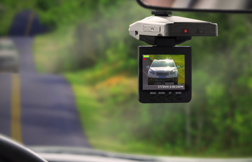 U-Drive: DVR Dash Cam with Night Vision