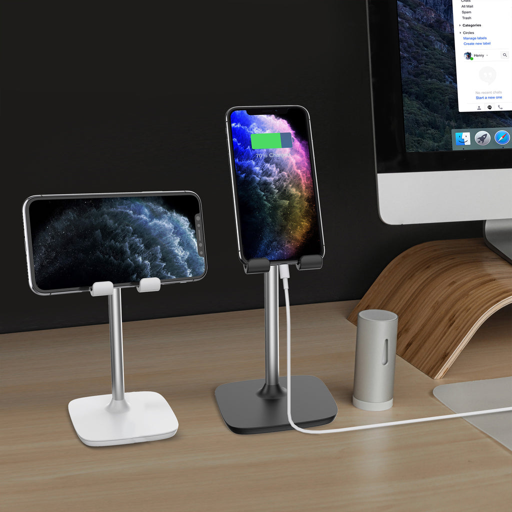 Aduro Elevate Stand with Adjustable Height for Phone & Tablets