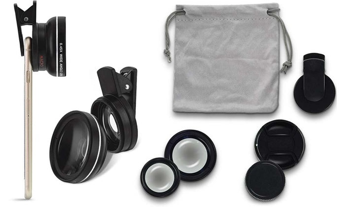 U-Snap 2-in-1 Optical Lens Kit