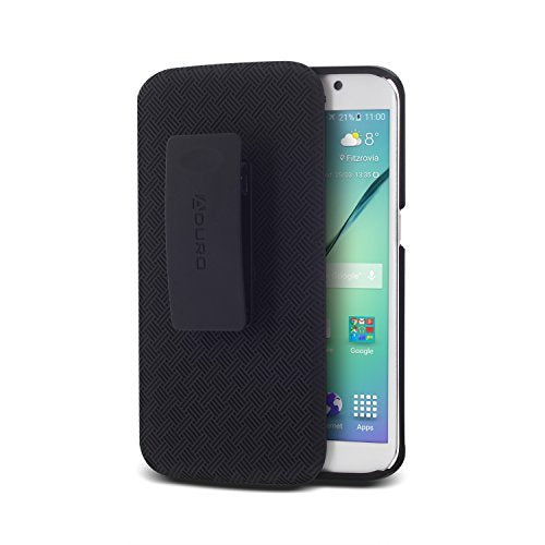 SHELL & HOLSTER COMBO CASE: Galaxy S6 Edge