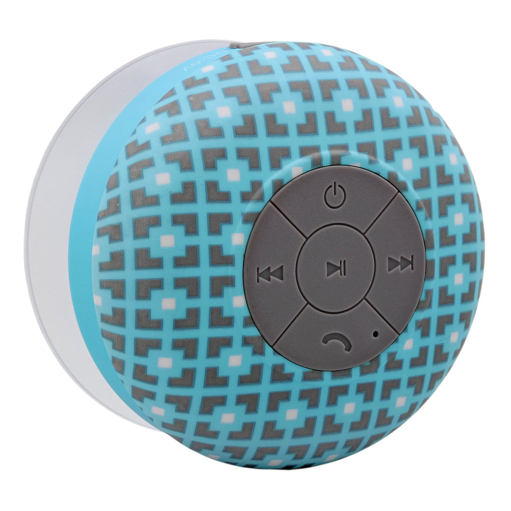 AquaSound Shower Speaker, Waterproof Wireless Speaker