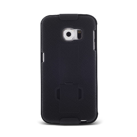 Shell & Holster Combo Case For Samsung Galaxy S6 Edge