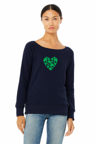 St. Patrick's Wide Neck Sweatshirt