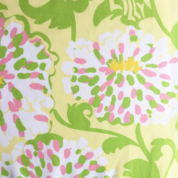 PS Collection: Lilly Pulitzer Inspired Kitchen Towel (White Towel with Border Design B)
