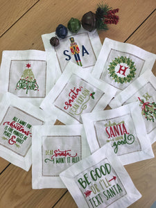 Christmas Special: Cocktail Napkins - Funny Sayings - Happiest Inc.