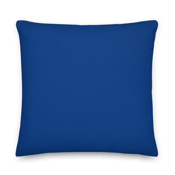 Negative Vibes Protection Pillow with Beautiful Evil Eyes (Navy) - Happiest Shop Ever