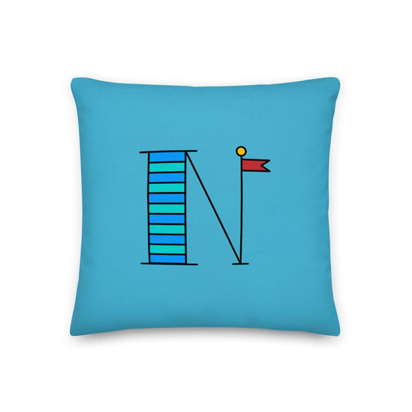 New! Personalized Summer Sailing Pillow - Happiest Shop Ever