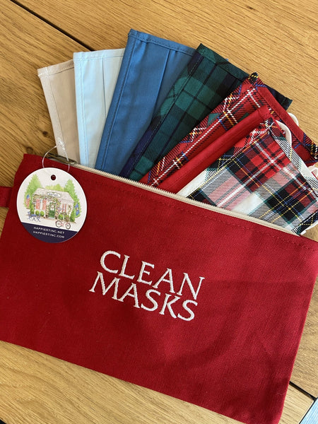 Pouch for Clean Masks - Happiest Shop Ever