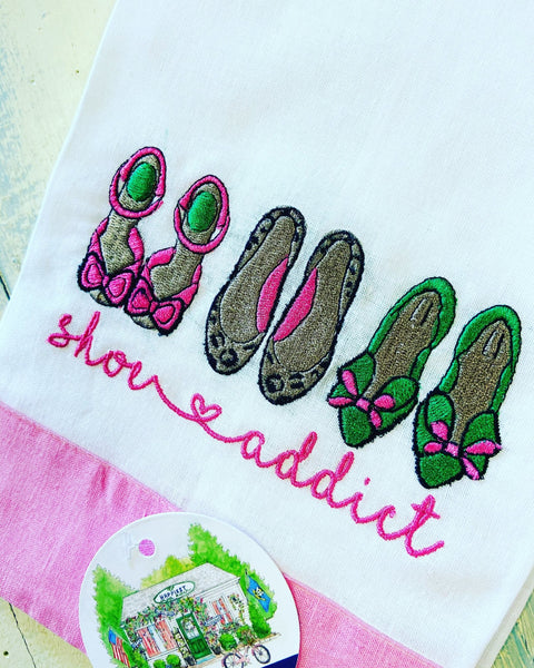 Shoe Addict Powder Room / Guest Towel - Happiest Shop Ever