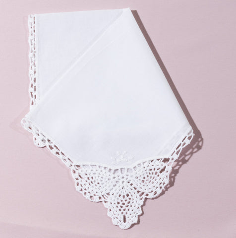 Wedding Handkerchief (Beatrice) - Happiest Shop Ever