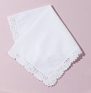 Wedding Handkerchief (Catherine) - Happiest Shop Ever