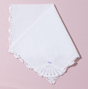 Wedding Handkerchief (Cecilia) - Happiest Shop Ever