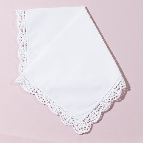 Wedding Handkerchief (Charlotte) - Happiest Shop Ever