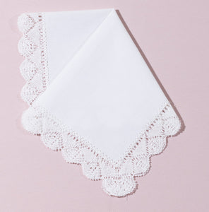 Wedding Handkerchief (Diana) - Happiest Shop Ever
