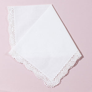 Wedding Handkerchief (Eleanor) - Happiest Shop Ever
