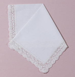 Wedding Handkerchief (Meghan) - Happiest Shop Ever