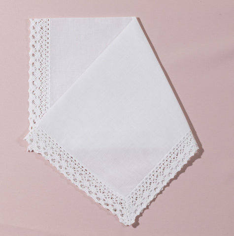 Wedding Handkerchief (Rania) - Happiest Shop Ever