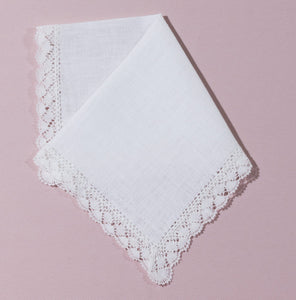 Wedding Handkerchief (Victoria) - Happiest Shop Ever