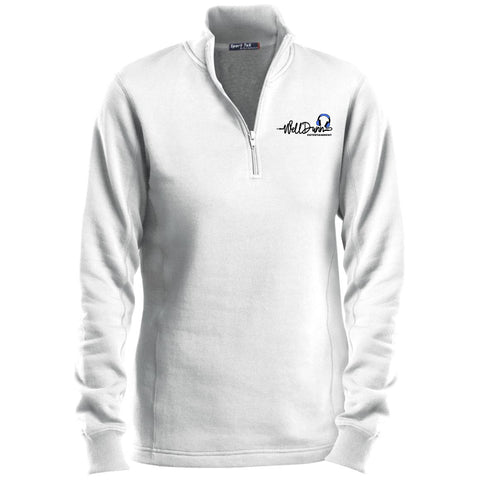 Ladies' Quarter-Zip Sweatshirt