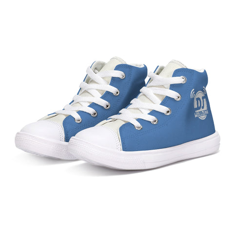 Back-To-School Kids Canvas Hightop
