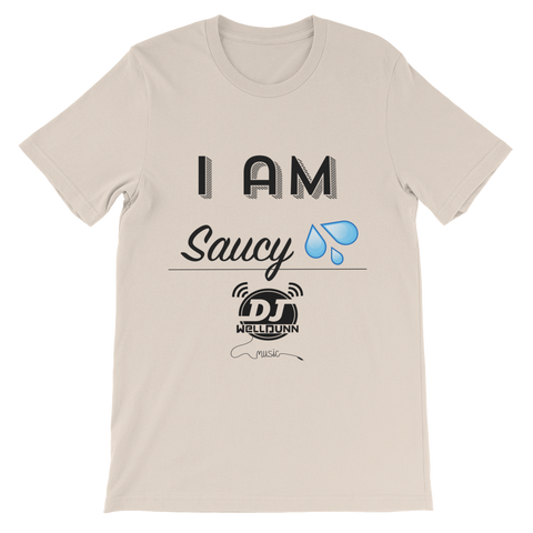 """I Am-Saucy"" short sleeve t-shirt"