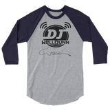 3/4 sleeve WellDunn raglan shirt