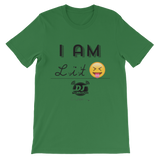 """I AM-Lit"" short sleeve t-shirt"
