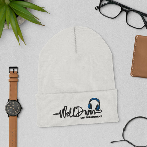 WellDunn Branded Cuffed Beanie