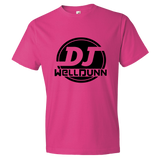 WellDunn (logo black) Short sleeve t-shirt