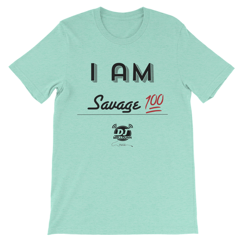 """I Am-Savage"" short sleeve t-shirt"