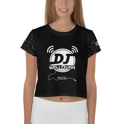 Dj WellDunn Crop Tee