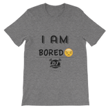 """I Am-Bored"" short sleeve t-shirt"