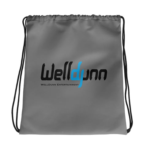 WellDunn Entertainment Drawstring Bag - Gray