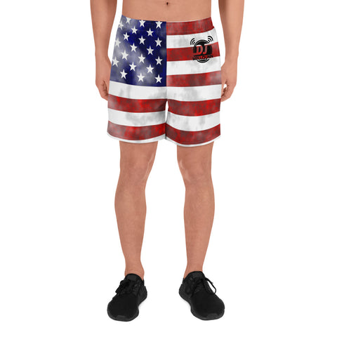 American Flag Dj WellDunn Men's Shorts