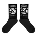Black DjWellDunn #BHAM foot socks
