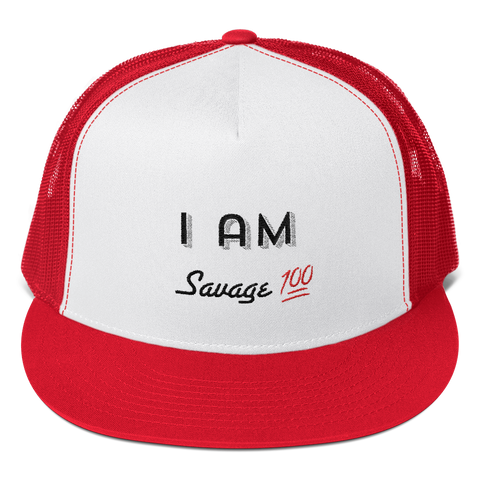 "WellDunn ""Savage"" Trucker Cap"