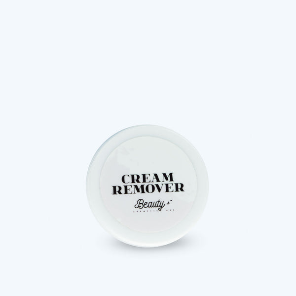 Glue remover cream eyelash extensions