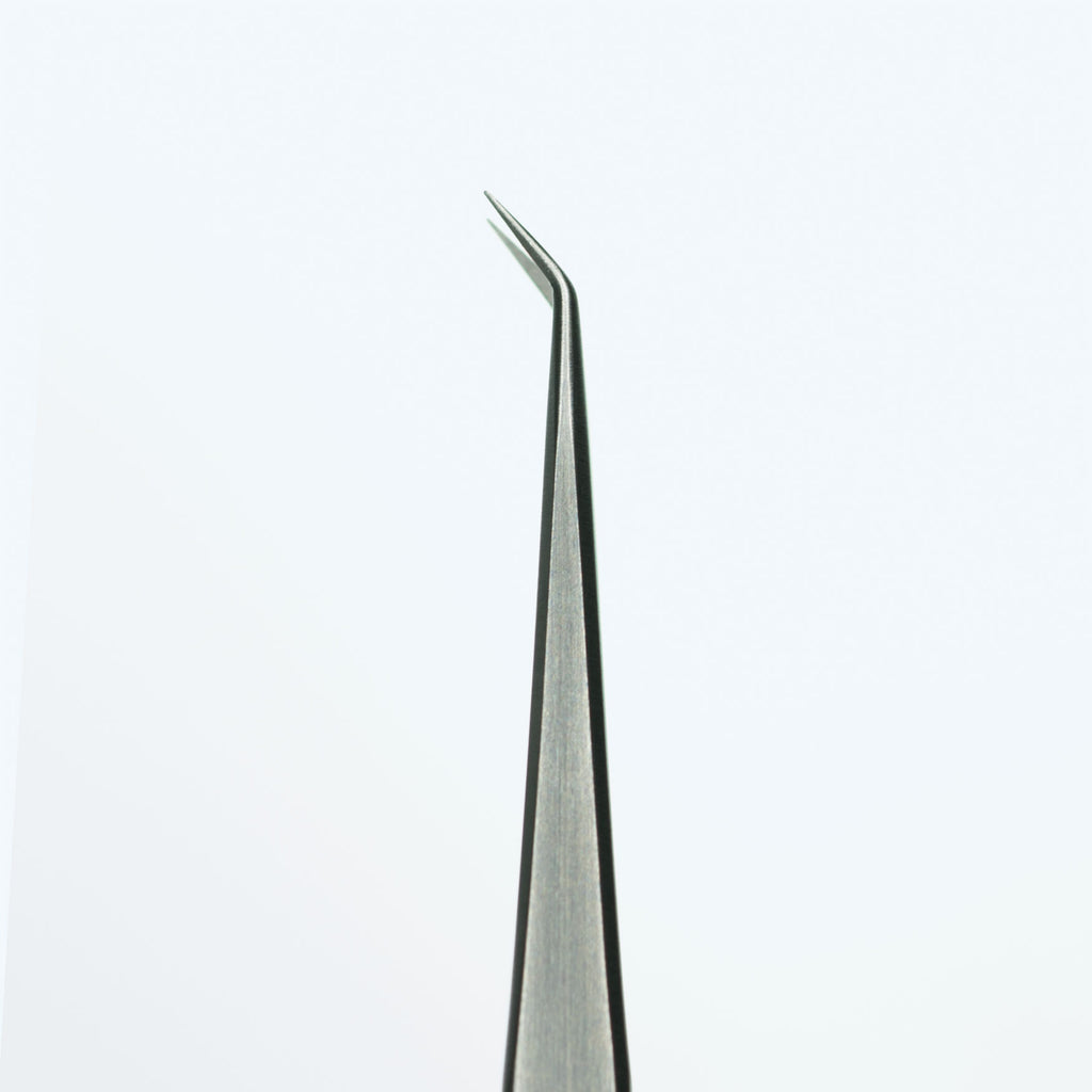 Isolation tweezer (angled tip)