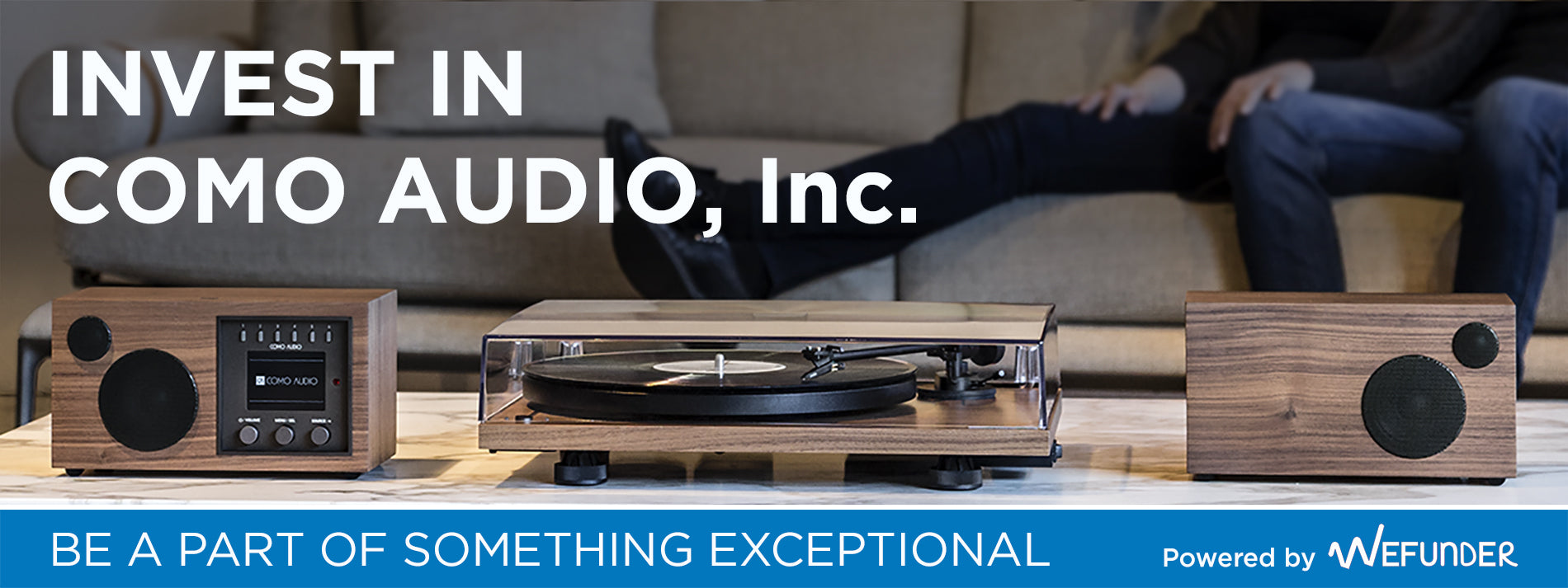 Invest in Como Audio, Inc!