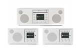 Three Room Music System / Piano White