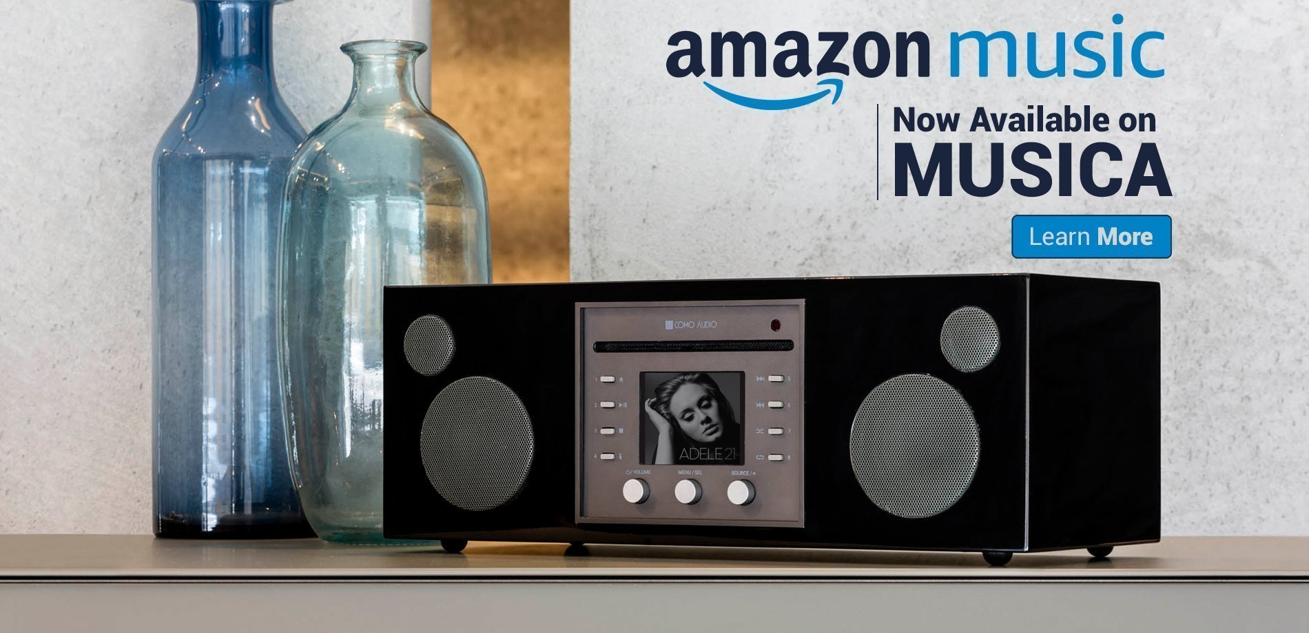 Amazon Music now on Musica!