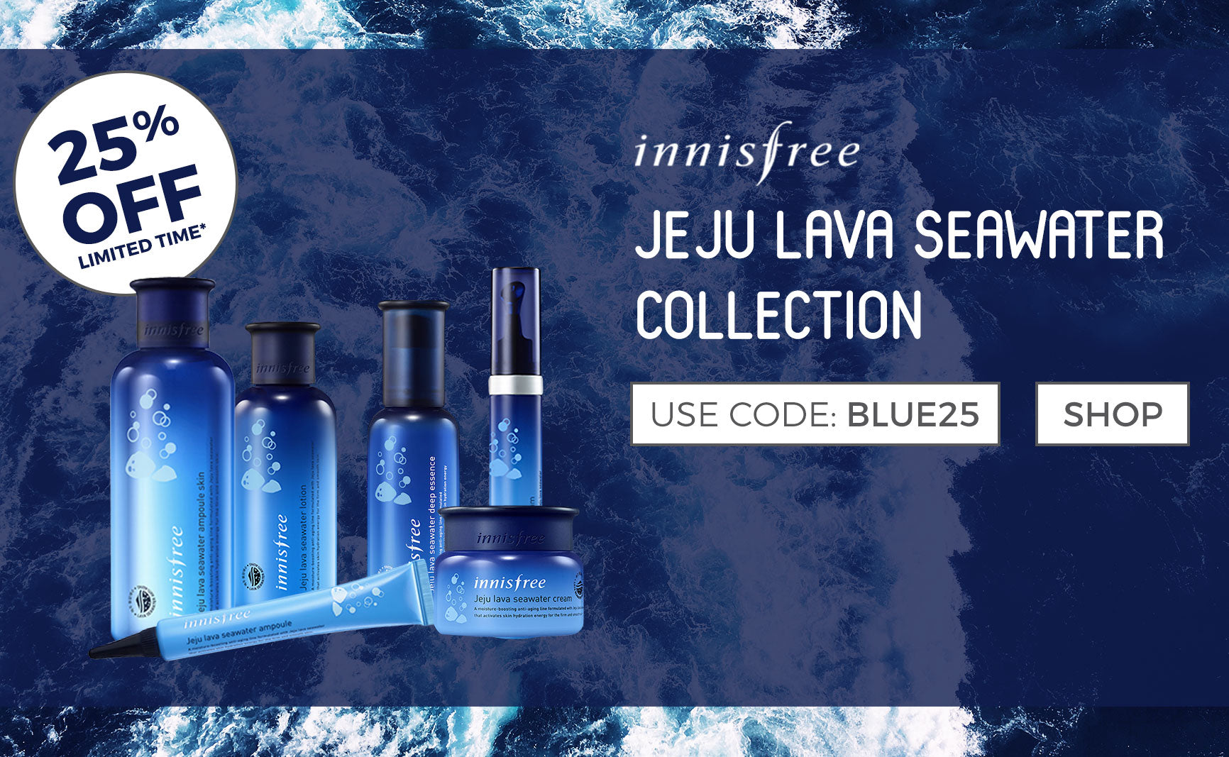 Jeju Lava Seawater Collection