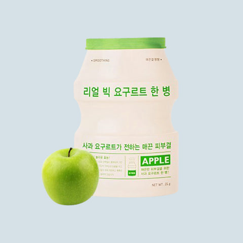 Real Big Yogurt One Bottle (Smoothing Apple)