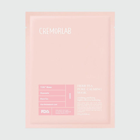 Cremorlab - Herb Tea Blemish Minus Calming Mask - Korean Skin Care From Take Good Care